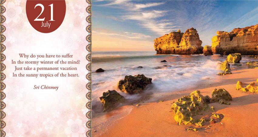 July 21st daily meditation