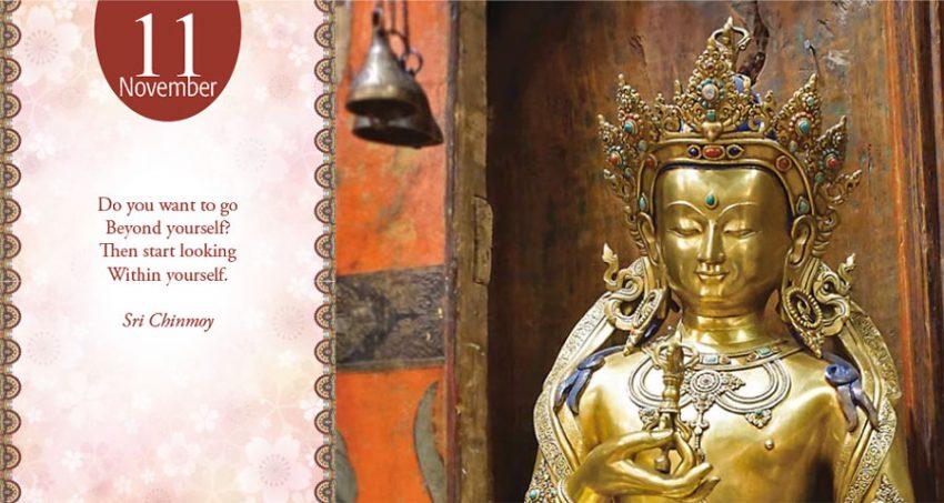 Sri Chinmoy daily poem 11 november-317
