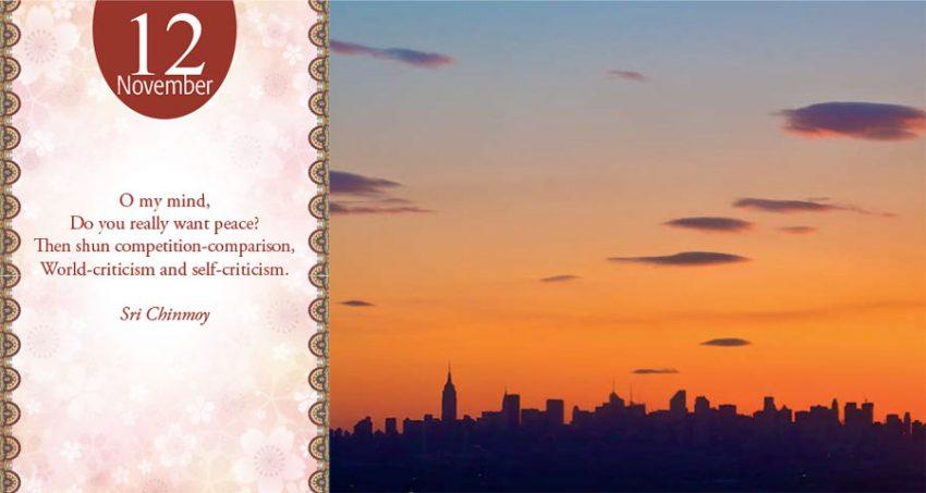 Sri Chinmoy daily poem 11 november-318
