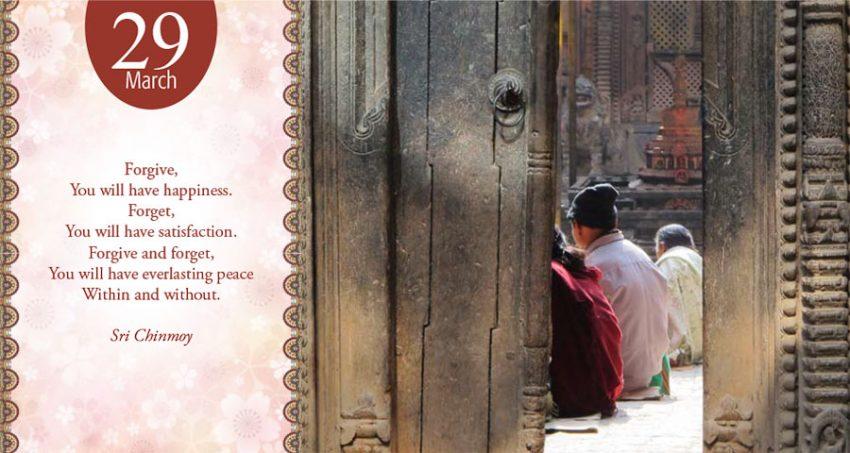 March 29th daily meditation