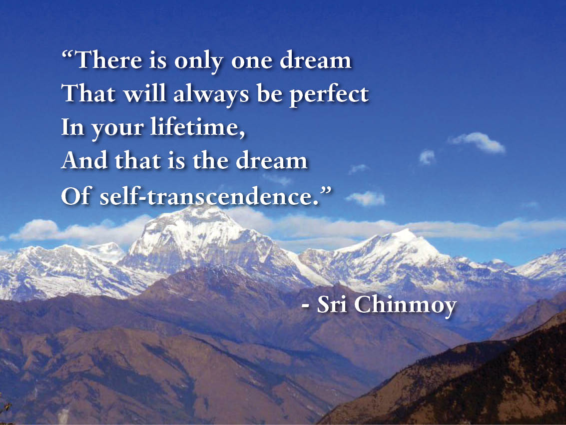 there-is-only-one-dream-self-transcendence